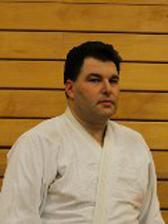 Professeur de notre club aïkido, Kiryoku, à Bruxelles